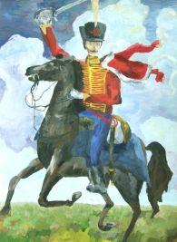 Кушнир Александр, 11 лет -  Гусар в бою